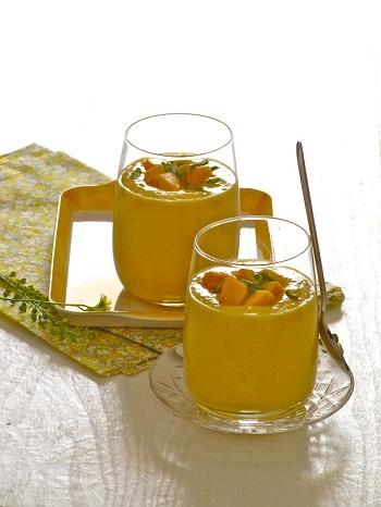 Коктейль из манго к завтраку