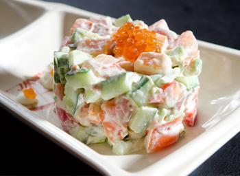 фото рецепты рыбы салаты красной из