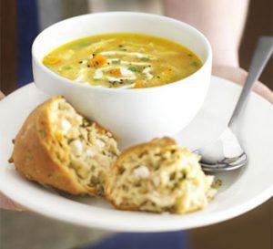 рецепт вкусного сырного супа с грибами