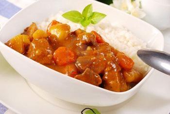 рецепт карри с мясом