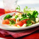 Салат из курицы с грейпфрутом
