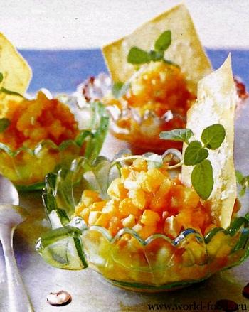 постный фруктовый салат рецепты