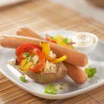 Хот-дог в картошке