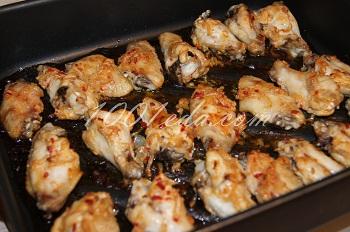 """Куриные крылышки """"Фиеста"""", пошаговый рецепт с фото"""