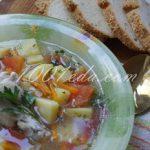 Детский суп с томатами и гречневой крупой: рецепт с пошаговым фото