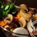 Шампиньоны маринованные с морковью: рецепт с пошаговым фото