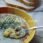 Цветочный суп с яйцом на курином бульоне: рецепт с пошаговым фото