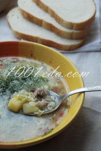 рецепт детского супа на курином бульоне