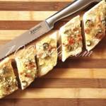 Багет с чесноком и сыром:  рецепт с пошаговым  фото