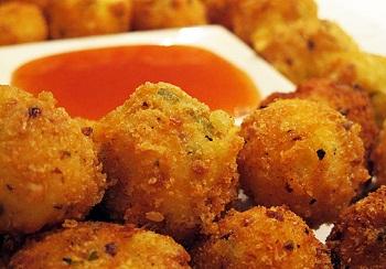 Рецепт канапе на кукурузных чипсах
