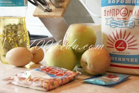 Яблочная запеканка с кешью, пошаговый рецепт с фото