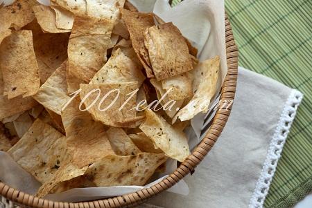 Чипсы из лаваша с паприкой – кулинарный рецепт