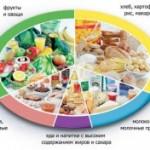 Из каких продуктов питания должен состоять здоровый рацион человека?
