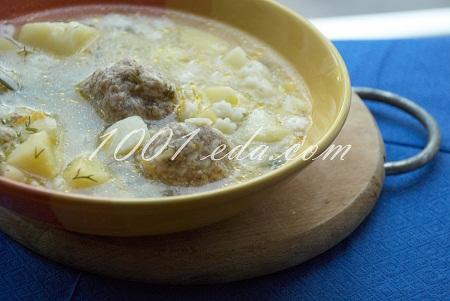 Как приготовить суп с фрикадельками с пошаговым