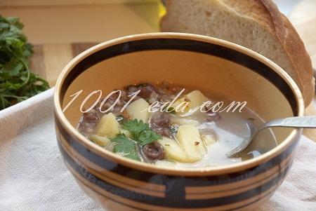 суп из куриных сердечек с гречкой рецепт с фото
