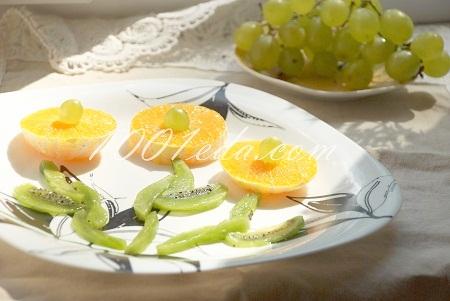 Рецепт букета из фруктов