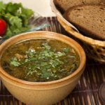 Суп харчо с рыбой по-грузински
