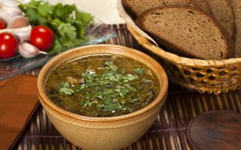 рыбный суп харчо