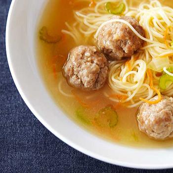суп с мясными фрикадельками рецепт