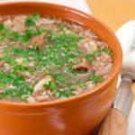Куриный суп «а-ля харчо»