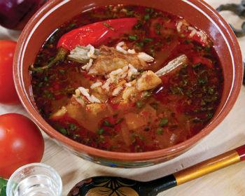 суп харчо по грузинскому рецепту