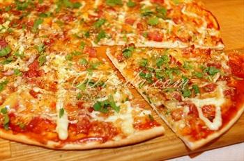 пицца рецепт пошагово