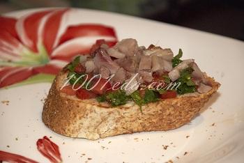 Брускетта с сальсой  из помидоров и сельдью: рецепт с пошаговым фото /></a> </div>  </div><br /> <div style=