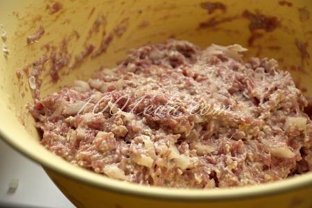 котлеты из свино говяжьего фарша простой рецепт