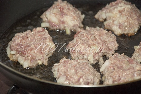 Котлеты свино куриные рецепт с фото