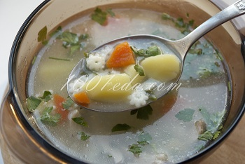 Легкий суп с пошаговым фото