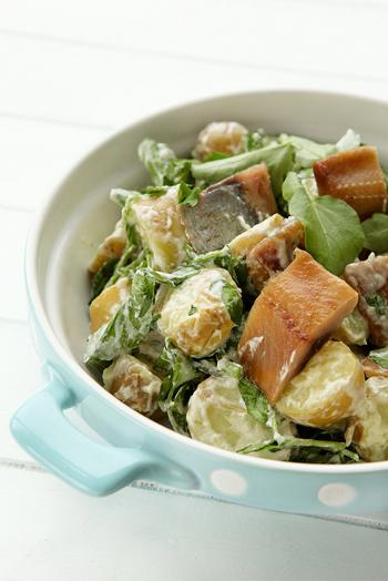 рецепт салата с сельдью и картофелем