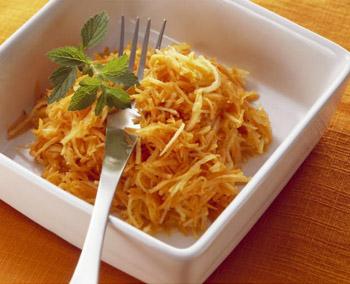 морковно яблочный салат рецепт калории