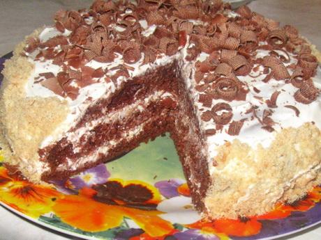 Торт дешево своими руками