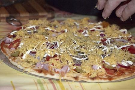 готовые коржи для пиццы