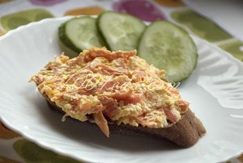 Закуска из моркови и сыра: рецепт с пошаговым фото