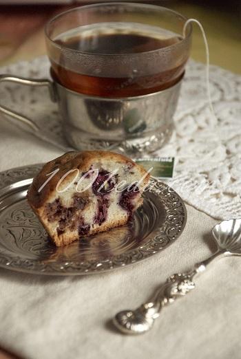 Рецепт маффинов со смородиной и шоколадом