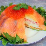 Рыбный торт На вершине Олимпа