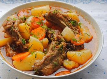 Ребрышки с картошкой в мультиварке рецепты