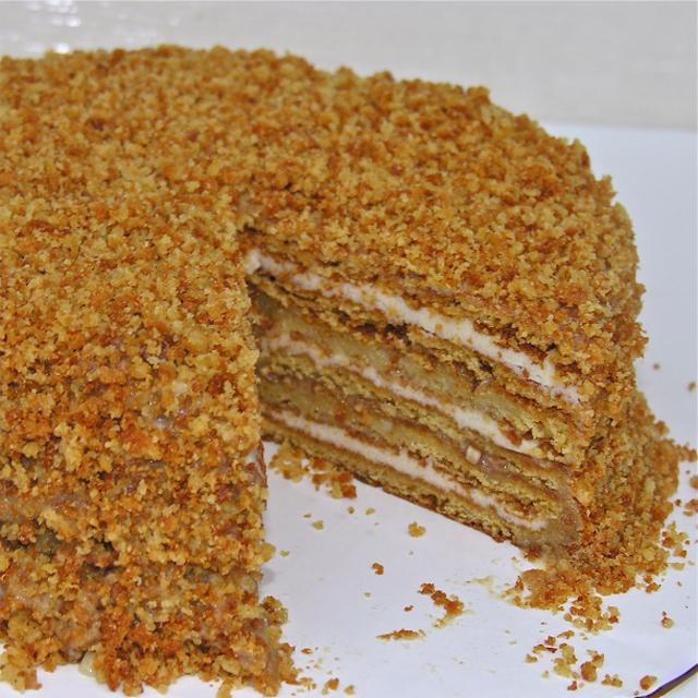 Торт b медовик b b рецепты b салаты