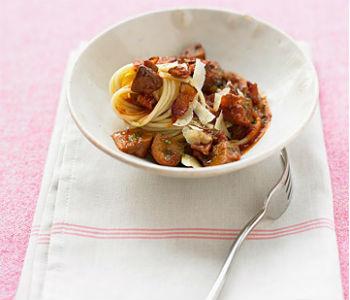 Рецепт рагу с рыжиками