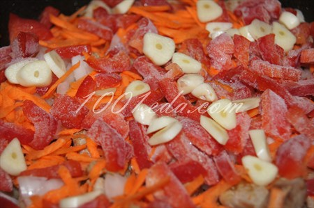 Рис с овощами и свининой – кулинарный рецепт