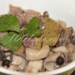 Закуска из маринованых вешенок: рецепт с пошаговым фото