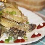 Картофель с шампиньонами в сметане: рецепт с пошаговым фото
