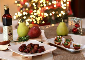 рулет и салат к празднику
