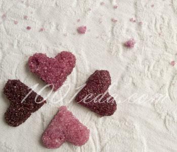 Цветной рафинад ко Дню Валентина