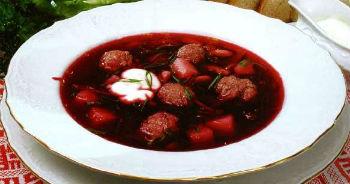 """Борщ """"Флотский"""" – кулинарный рецепт"""