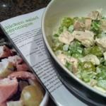 Вкусный салат «Вероника» с курицей и виноградом