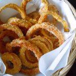 Луковые кольца в чипсах