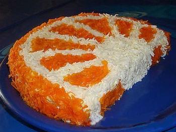 Рецепт салата с курицей и рисом