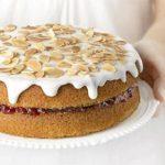 Кисельный торт в мультиварке